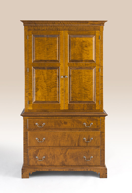 Historical Chester County Clothes Cabinet Image