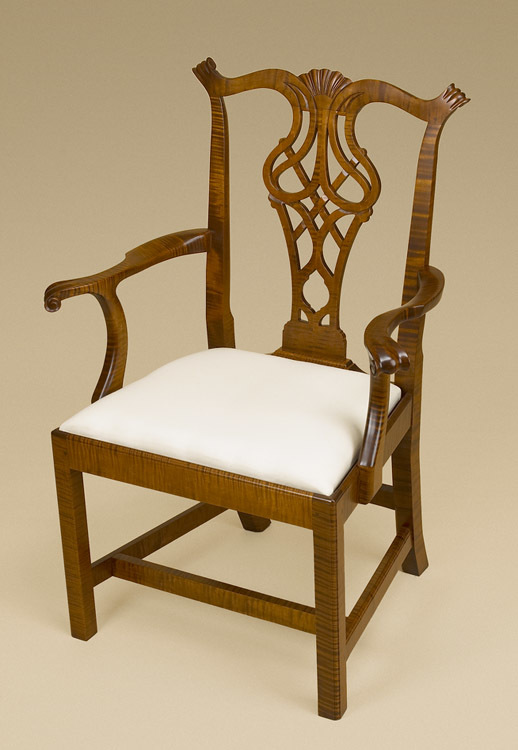 Chippendale Arm Chair Image