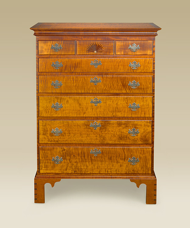 Chippendale Tall Chest Image