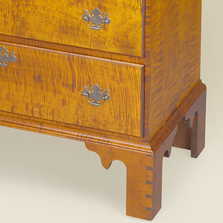 Chippendale Tall Chest