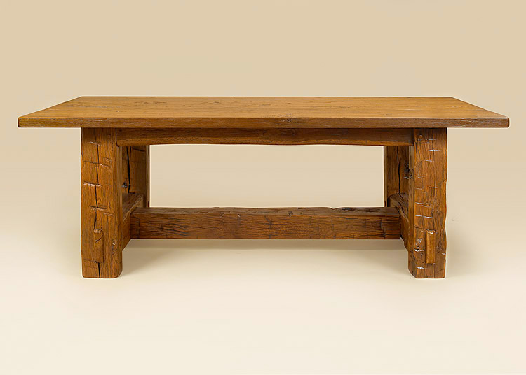 Country Barn Wood Table Image