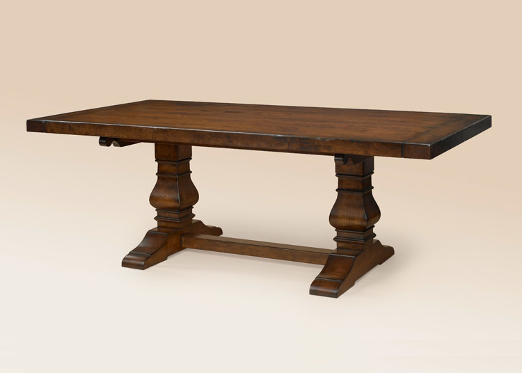 European Trestle Table Image