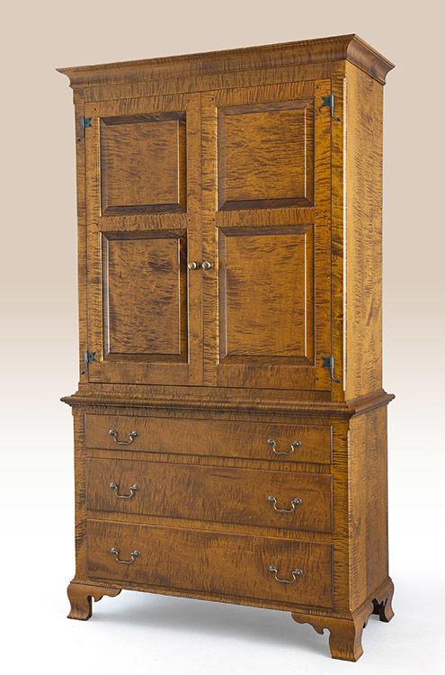 Historical Connecticut Clothes Cabinet Image