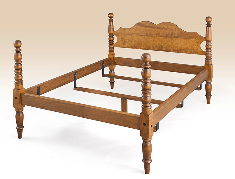 Historical Foster Cannonball Bed Image
