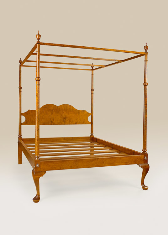 Historical Greenwich Canopy Bed Image