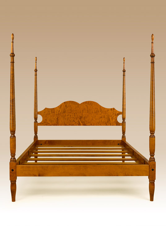 Historical Litchfield Poster Bed Image
