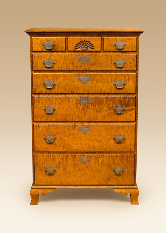 Historical Whitman 6 Drawer Chest Image
