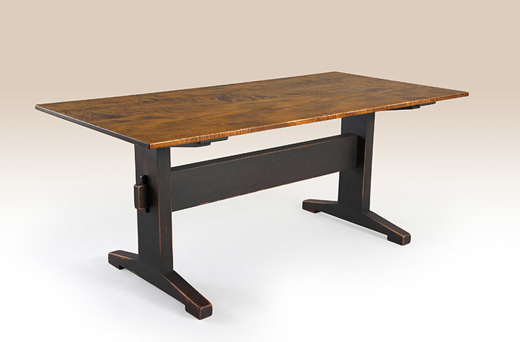 Historical Williston Trestle Table Image