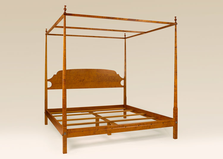 Pencil Post Bed with Canopy Image