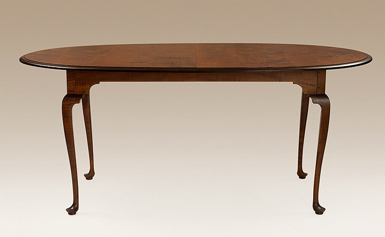 Oval Queen Anne Table Image