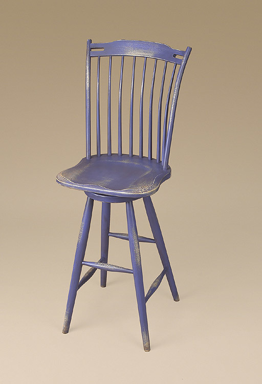Beauport Thumb Back Stool Image