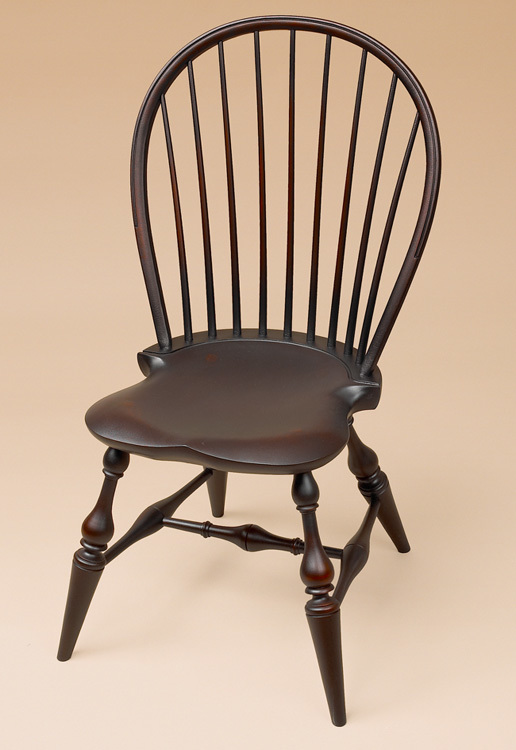 Bow-Back Side Windsor Chair - Classic Image