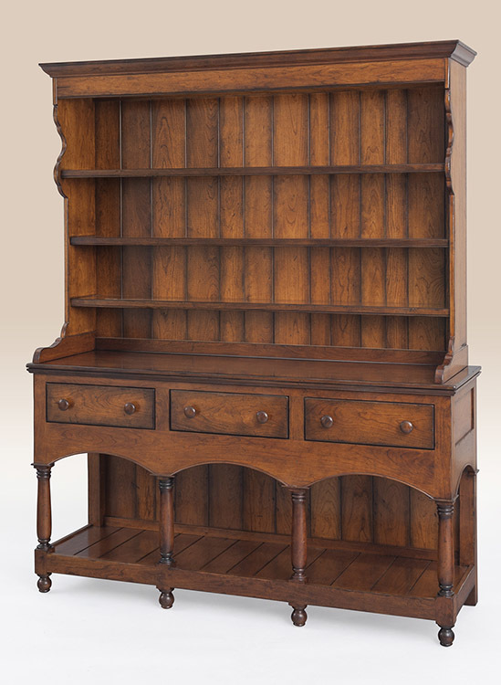 Canton Open Top Hutch Image