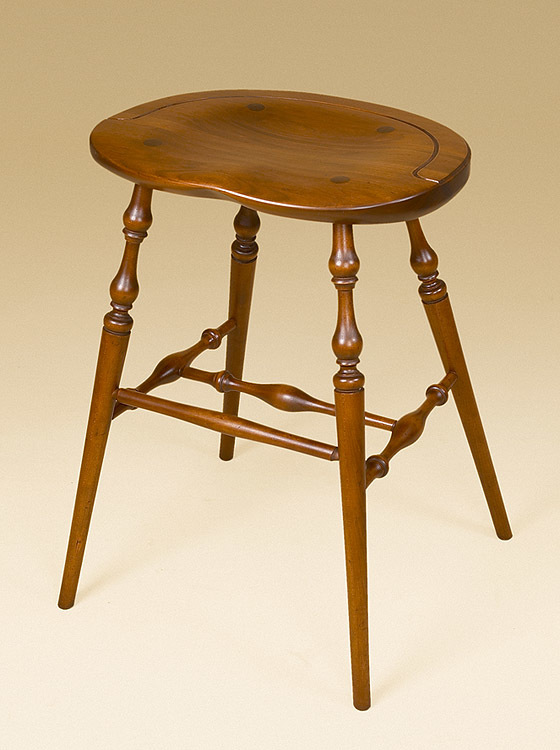 Cherry Windsor Stool Image