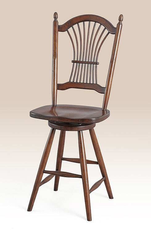 Country Manor Wheatback Stool Image