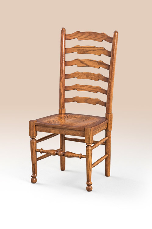 English Ladderback Chair Side Image