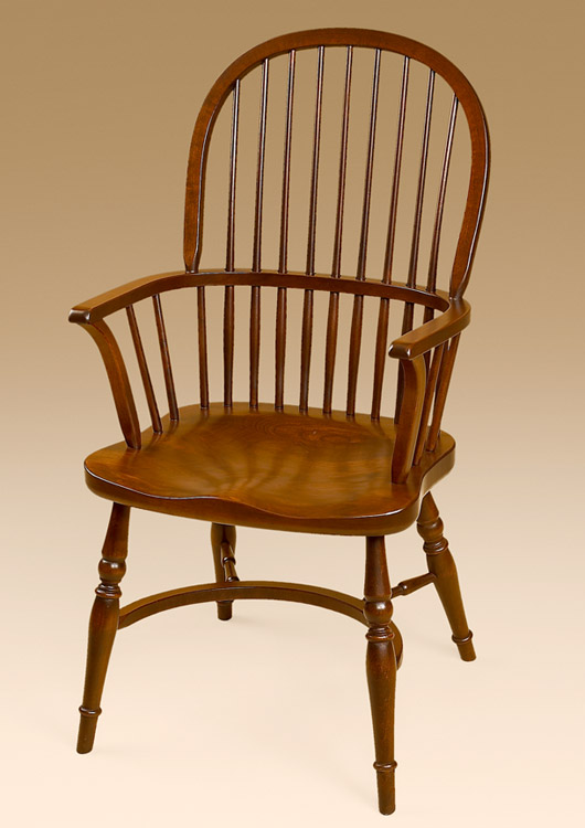 English Sack-Back Armchair Image