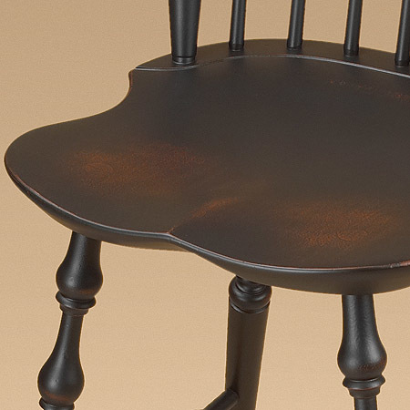 Fan Back Windsor Stool