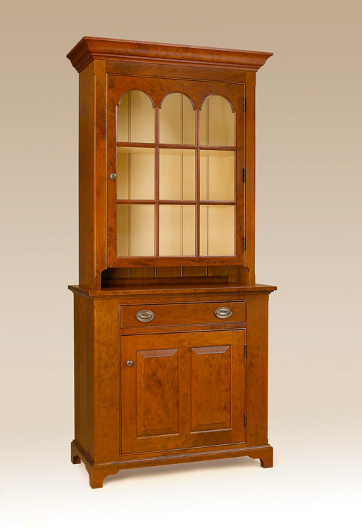 Historical Bennington Wall Cupboard