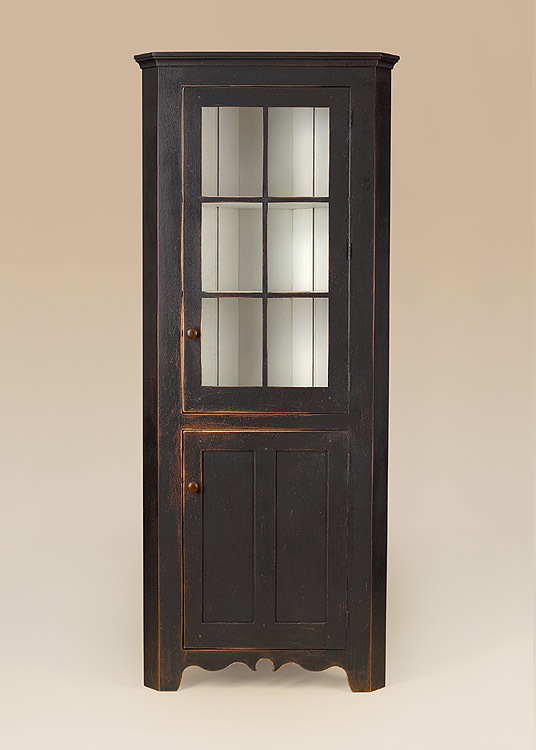 Historical Cassel Run Corner Cupboard Image