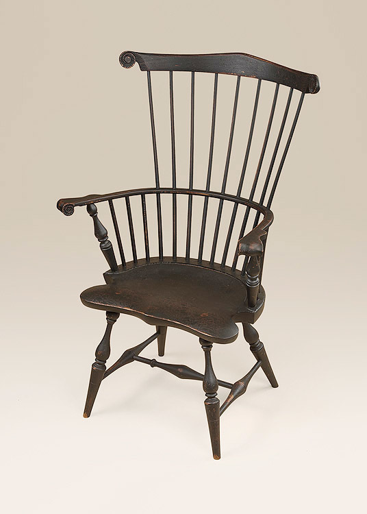 Historical Fan-Back Windsor Armchair Image