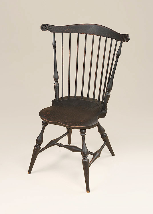 Historical Fan-Back Windsor Side Chair Image