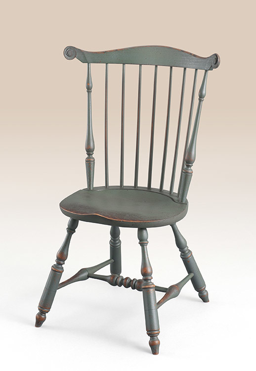 Historical Lancaster Fan-Back Windsor Side Chair Image