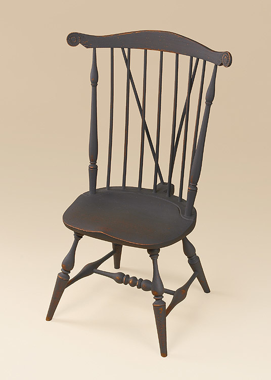 Historical Nantucket Windsor Side Chair with Brace Image