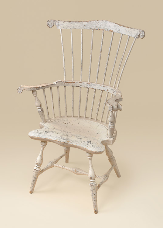 Bon Historical New England Comb Back Windsor Armchair Image