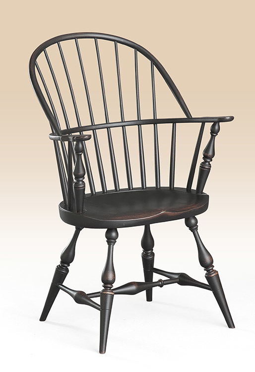 Historical New York Sack-Back Windsor Armchair Image