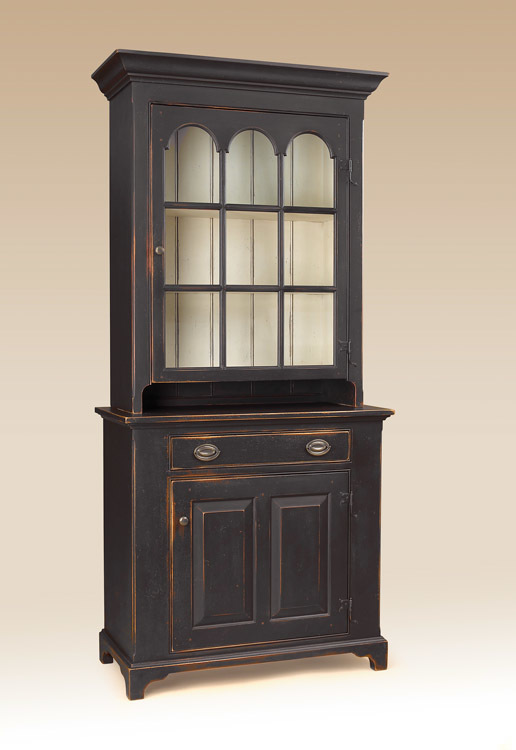 Historical Rockingham Wall Cupboard Image