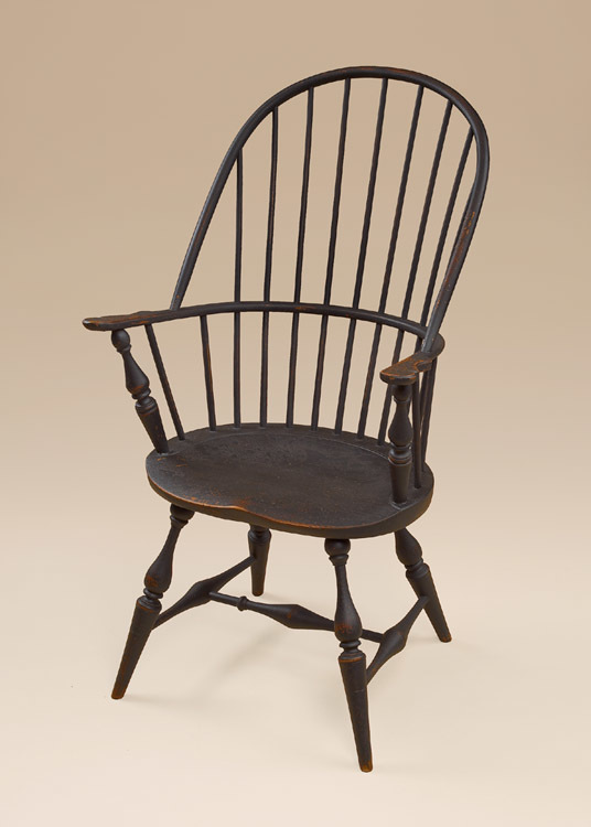 Historical Sack-Back Windsor Armchair Image