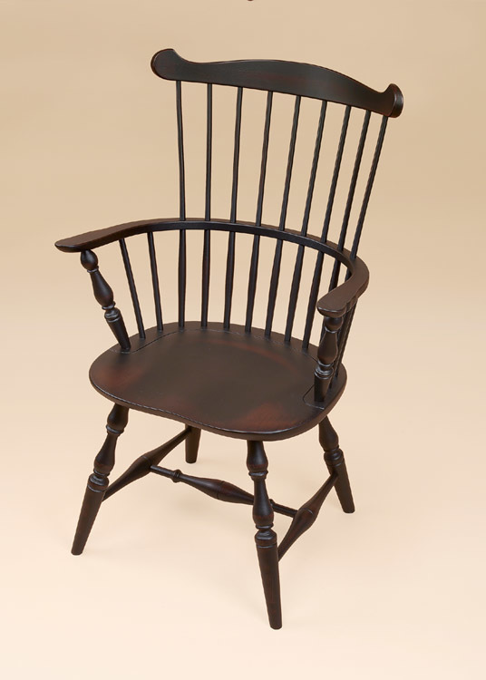 New England Fan-Back Windsor Armchair Image