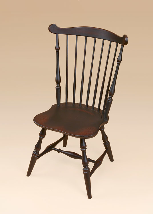 New England Fan-Back Windsor Side Chair Image