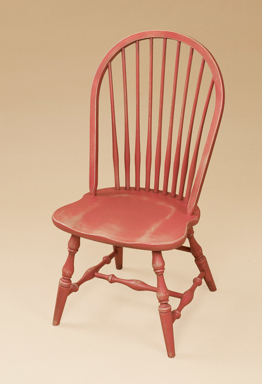 New England Bow-Back Side Windsor Chair Image