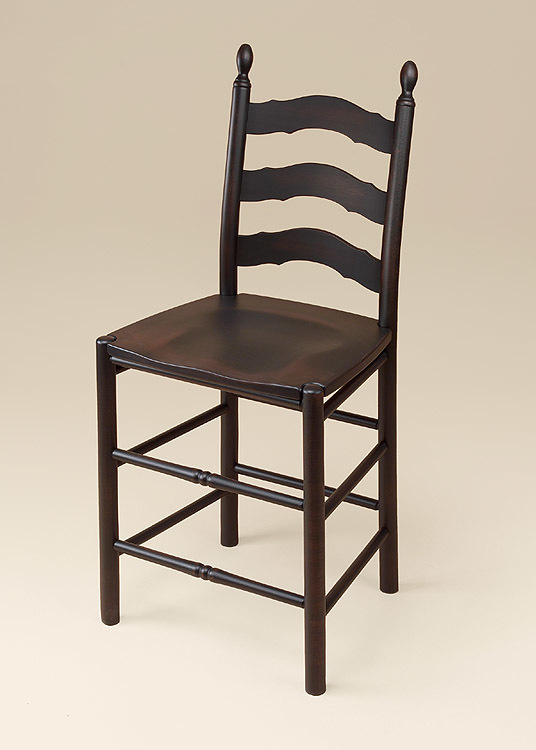 Nicole French Ladderback Stool Image