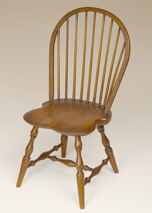 Oak Bow-Back Side Windsor Chair Image & Windsor Chairs | Great Windsor Chairs