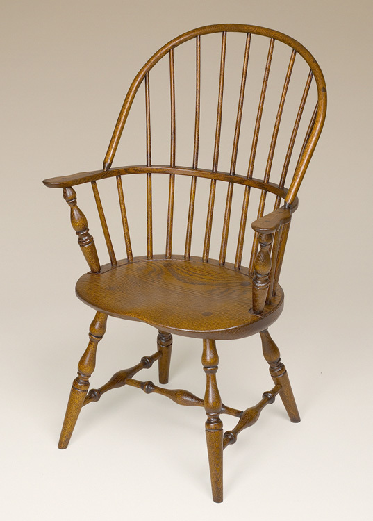 Oak Sack-Back Windsor Armchair Image