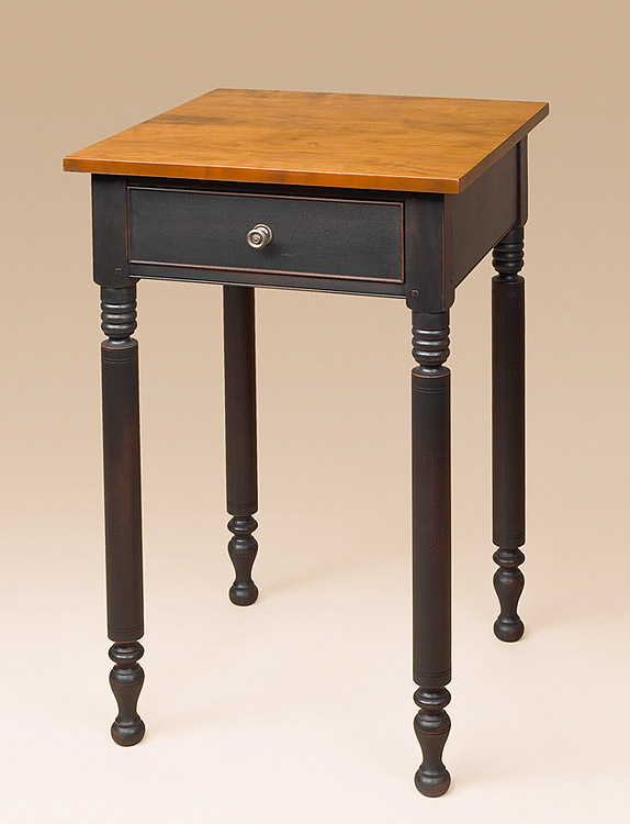 One Drawer Country Stand - Mixed Finish Image