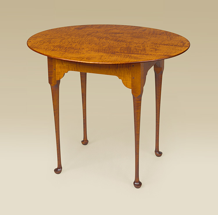 Oval Tea Table Image