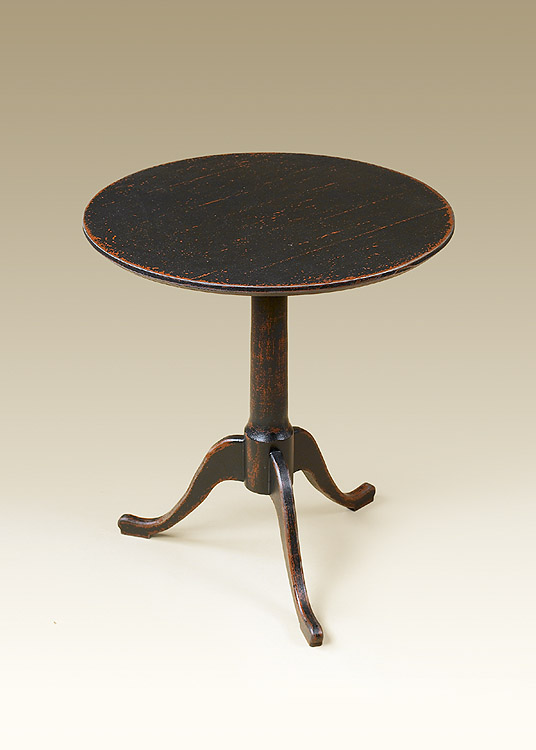 Queen Anne Round Top Table Image