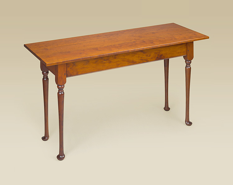 Queen Anne Sofa Table Image