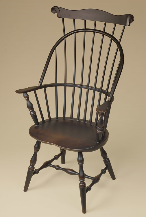 Sack-Back with Comb Windsor Armchair Image