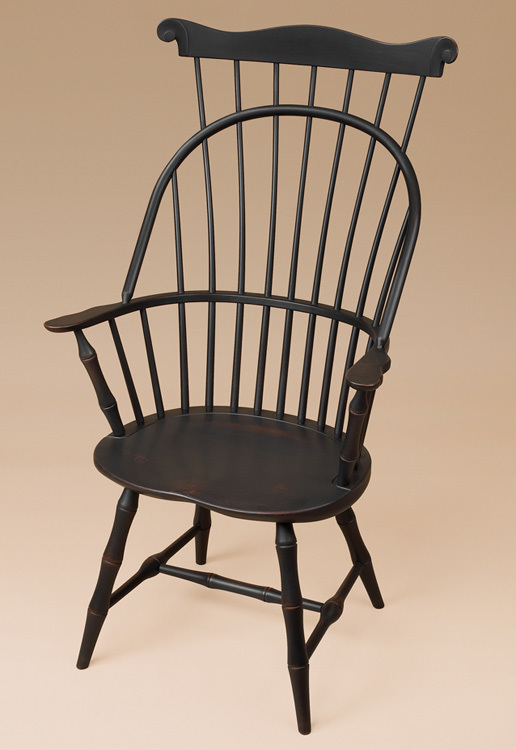 Sack-Back with Comb Windsor Armchair and Bamboo Turnings Image