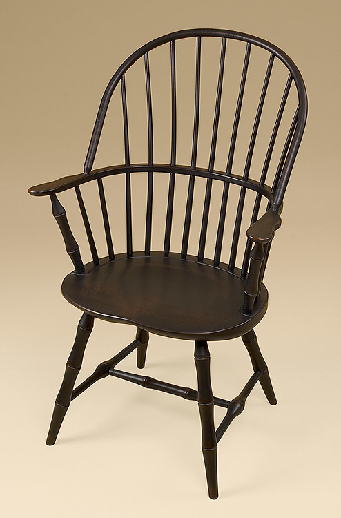 Sack-Back Windsor Armchair with Bamboo Turnings Image