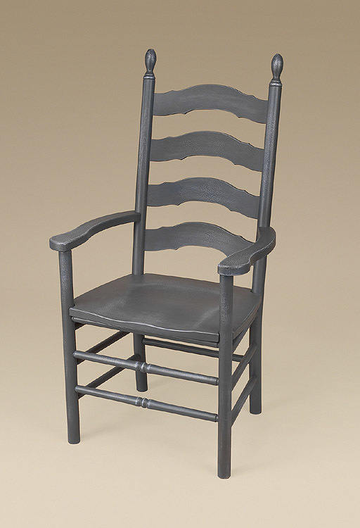 Simone French Ladderback Armchair Image