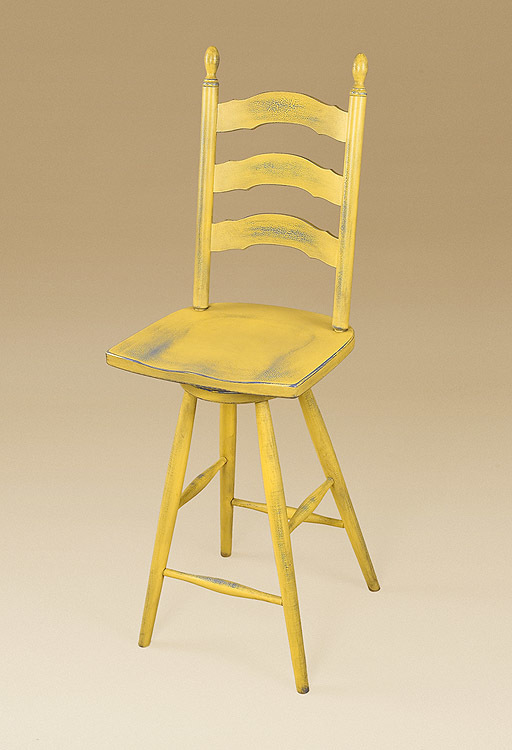 Simone French Ladderback Stool Image