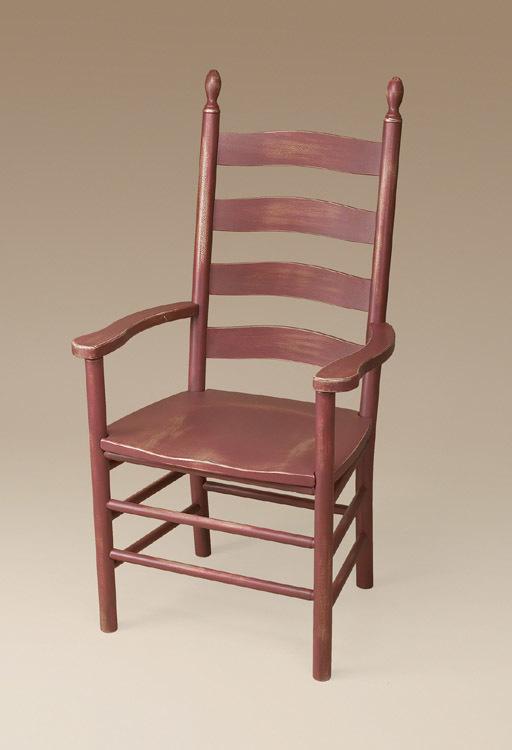 Winslow Shaker Ladderback Armchair Image