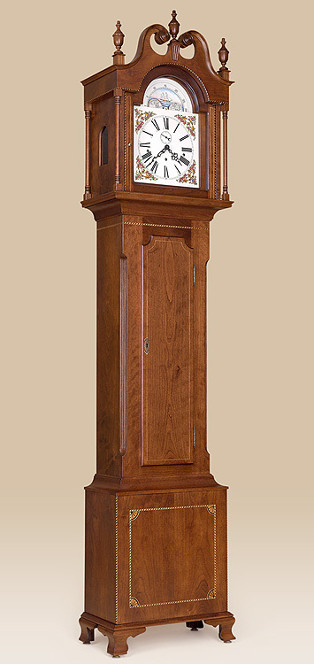 Federal Grandfather Clock Image