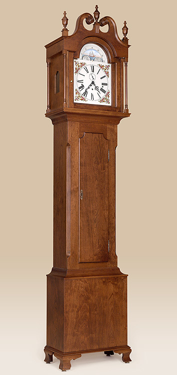 Lancaster County Grandfather Clock Image